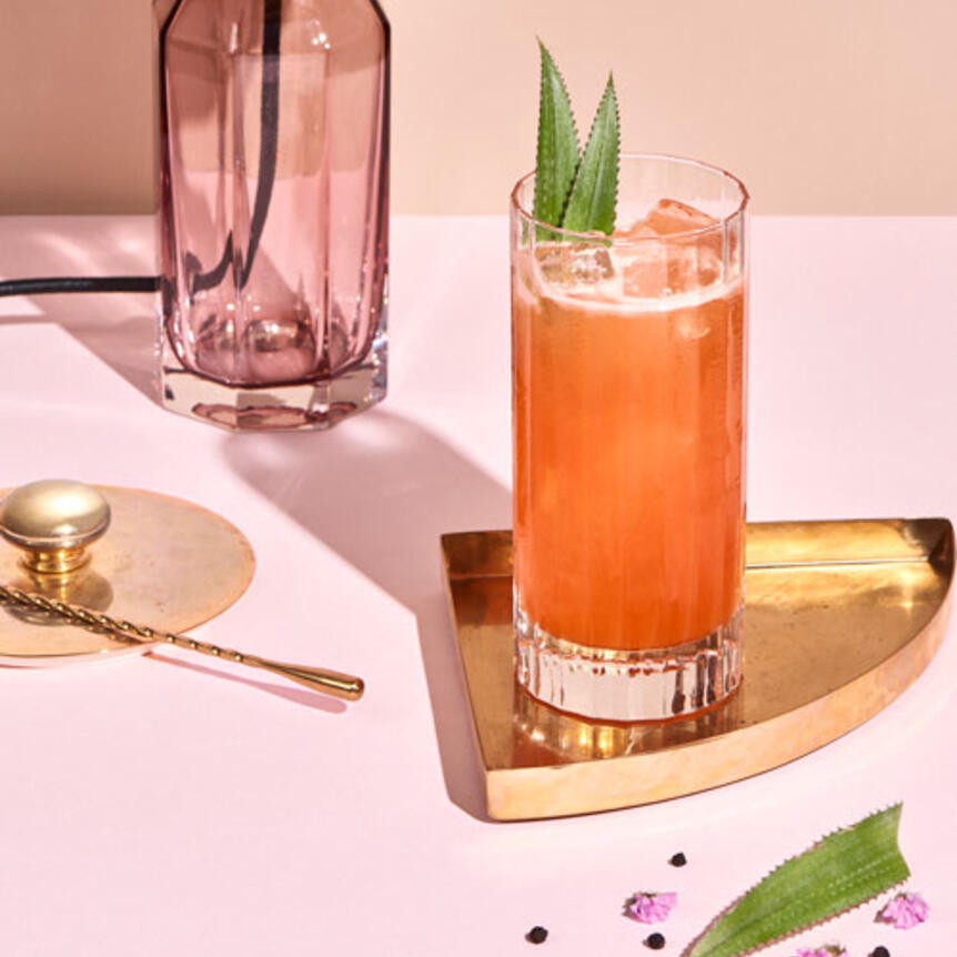Cointreau Singapore Sling cocktail