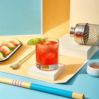 The Grilled Watermelon Margarita