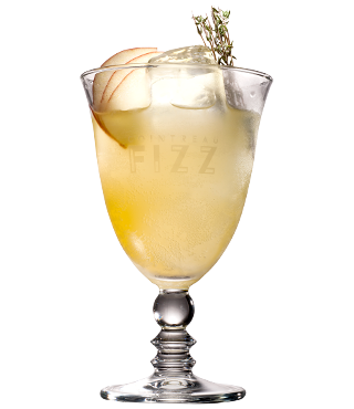 Cointreau Fizz Apple and Rosemary
