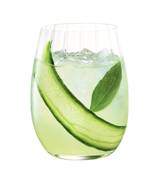 Cointreau Fizz Cucumber and Mint