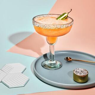 Margarita Helado de papaya