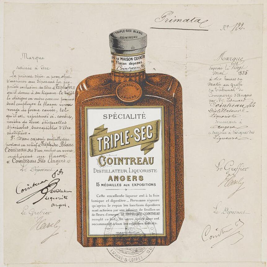 Cointreau bottle patent