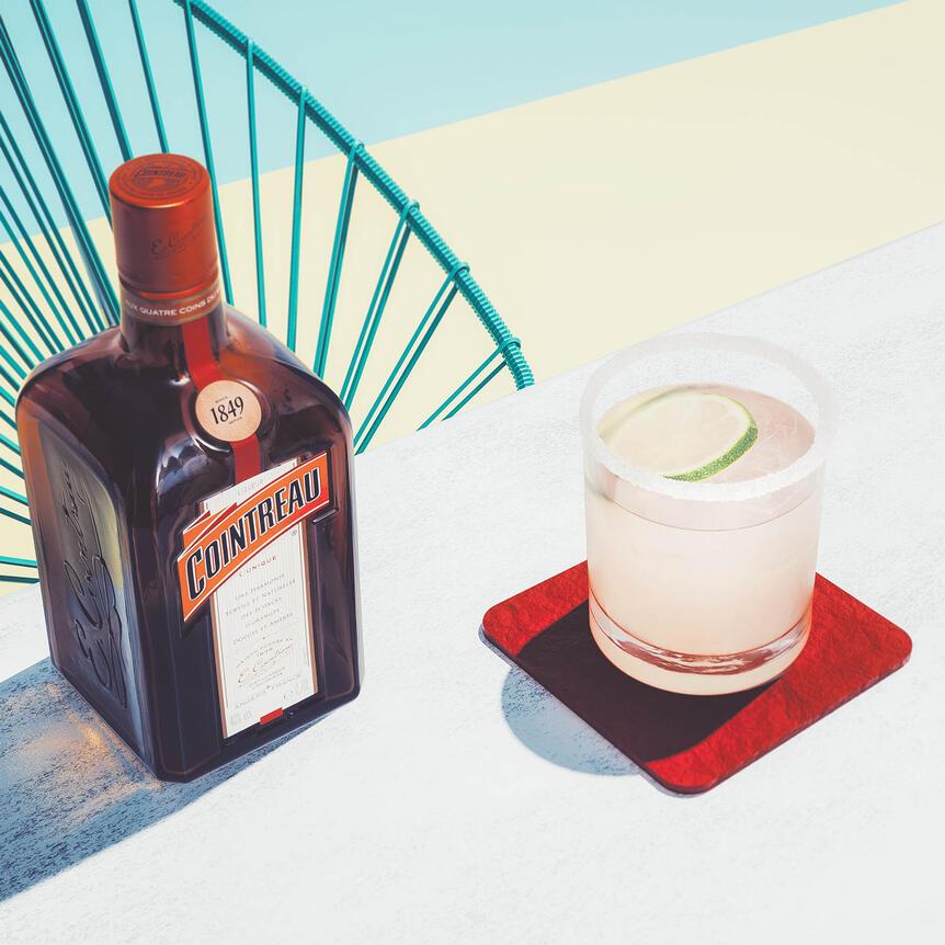 Margarita and Cointreau