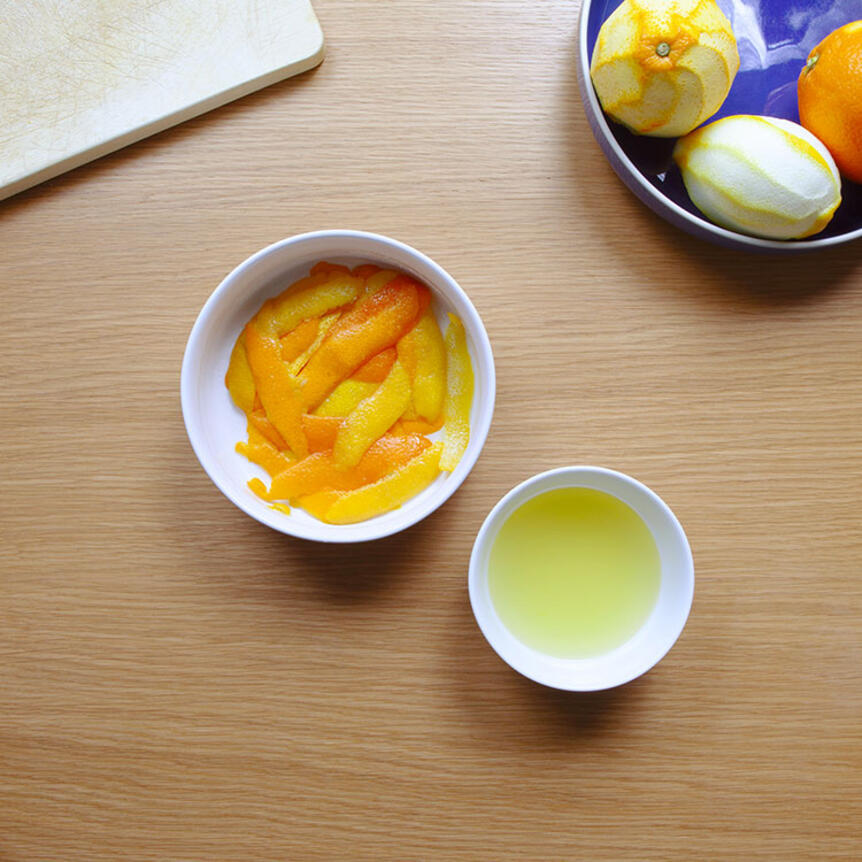 How to use orange peels
