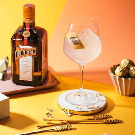 Gin et Cointreau, de beaux atouts