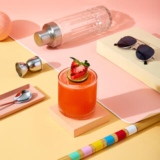 The Roasted Strawberry Margarita