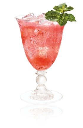 Cointreau Fizz Strawberry Basil
