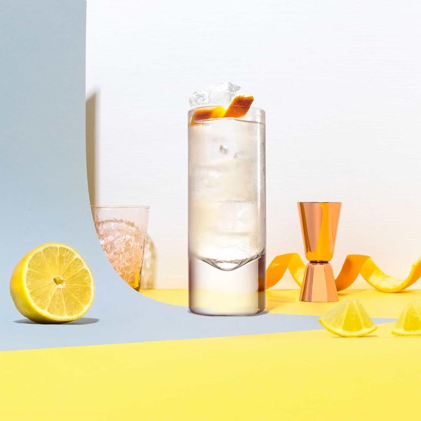 Cointreau Buck cocktail