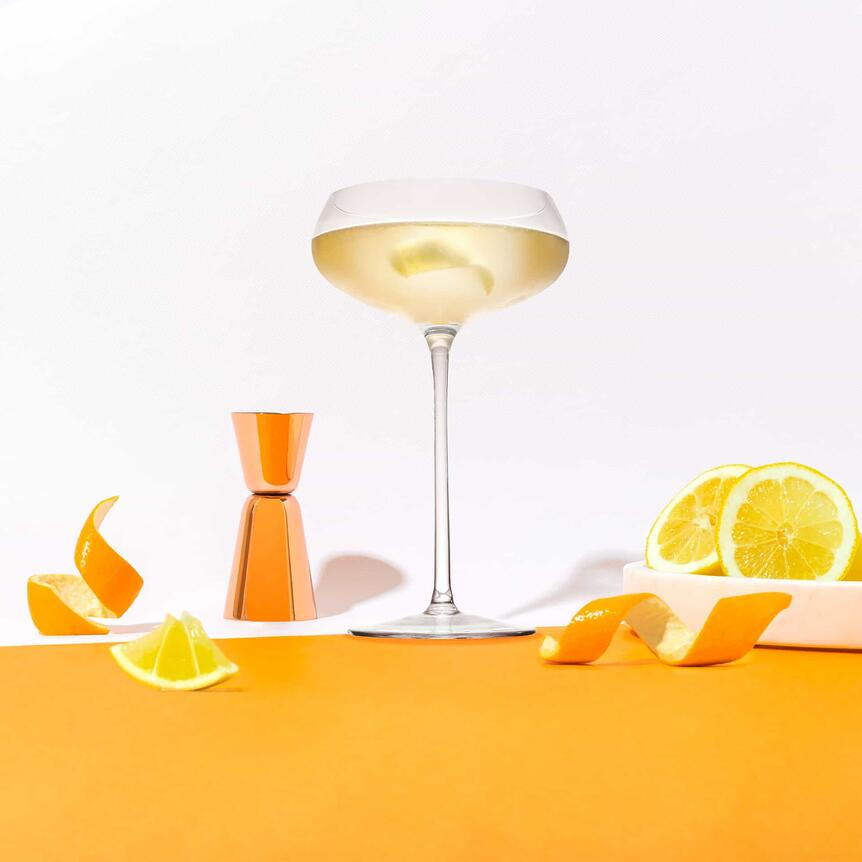 Golden Gloves cointreau cocktail