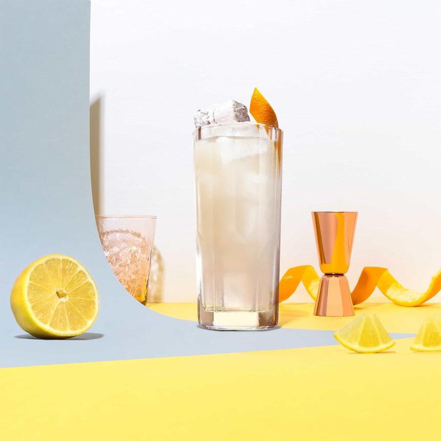 Ian's Fizz cointreau cocktail