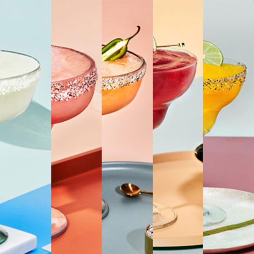 frozen margaritas for summer with cointreau