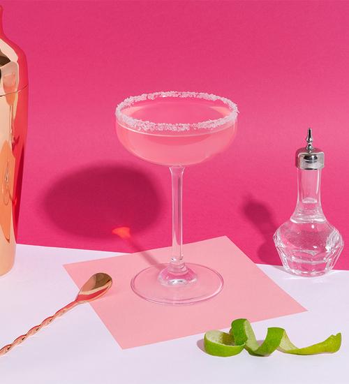 Pink Margarita: Ingredients And Preparation