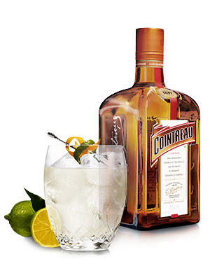 cointreau cocktail and glass
