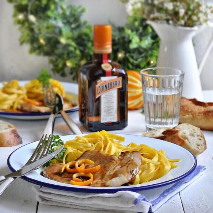 Chicken with Cointreau