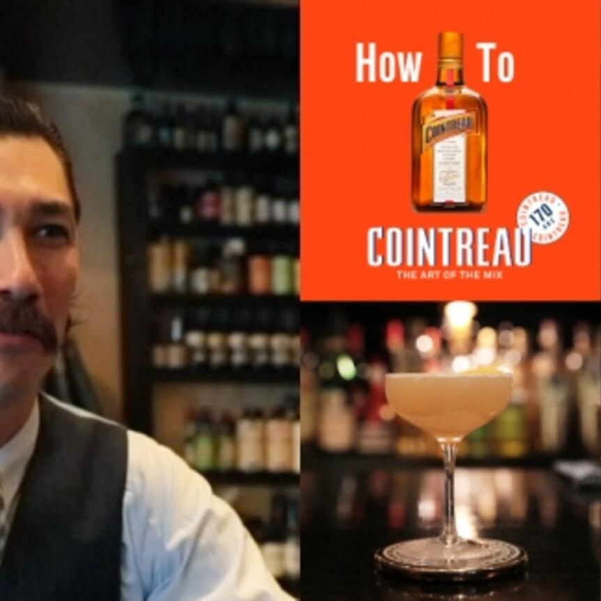 How To COINTREAU #5 BAR TRENCH