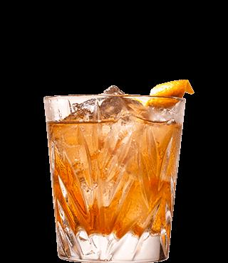 Cointreau Noir со льдом