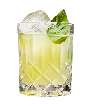 Lemon Basil Margarita