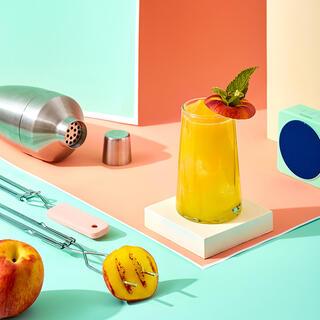 The Grilled Peach Margarita
