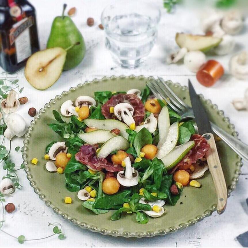 Chic & choc salad