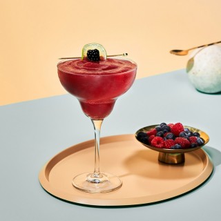 The Frozen Berry Margarita with Cointreau