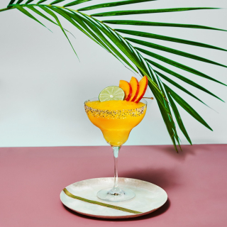 The Frozen Mango Margarita with Cointreau