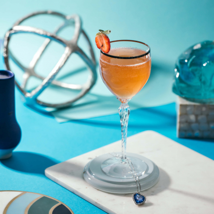 Heart of the Ocean Cocktail with Cointreau