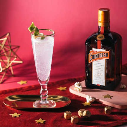 The Sparkling Margarita with Cointreau