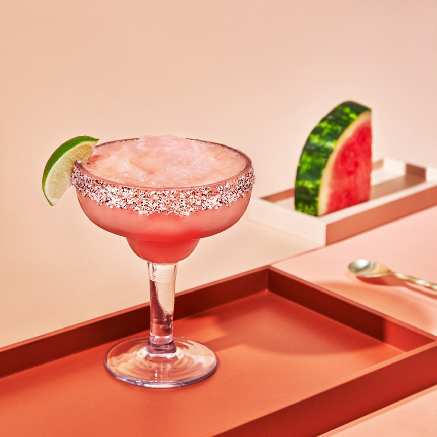 The Frozen Watermelon Margarita with Cointreau