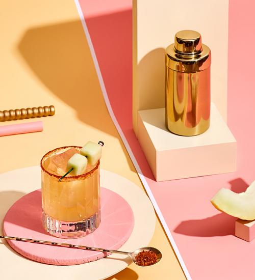 The Spicy Honeydew Margarita Recipe