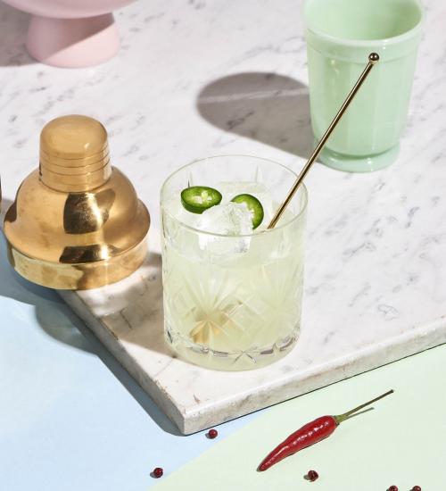 Spicy Margarita Cocktail Recipe